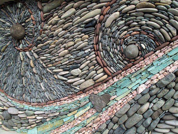 Mosaic of stone