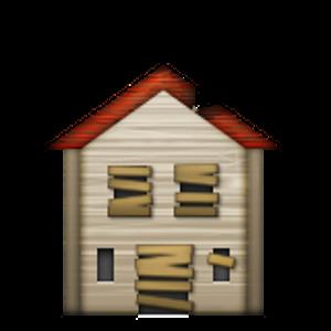 Derelict House Building Huis