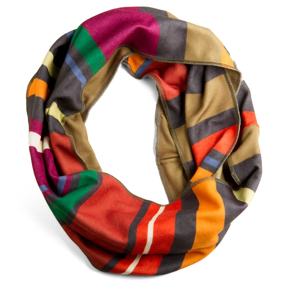 infinity-scarf-scarves-washable-stripes-fall-colors-soft-comfy-cool ...