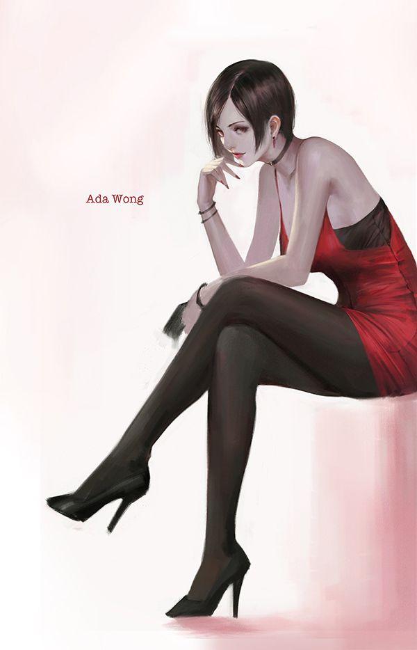 Ada Wong RE4 Dress Render by Kunoichi-Supai on DeviantArt