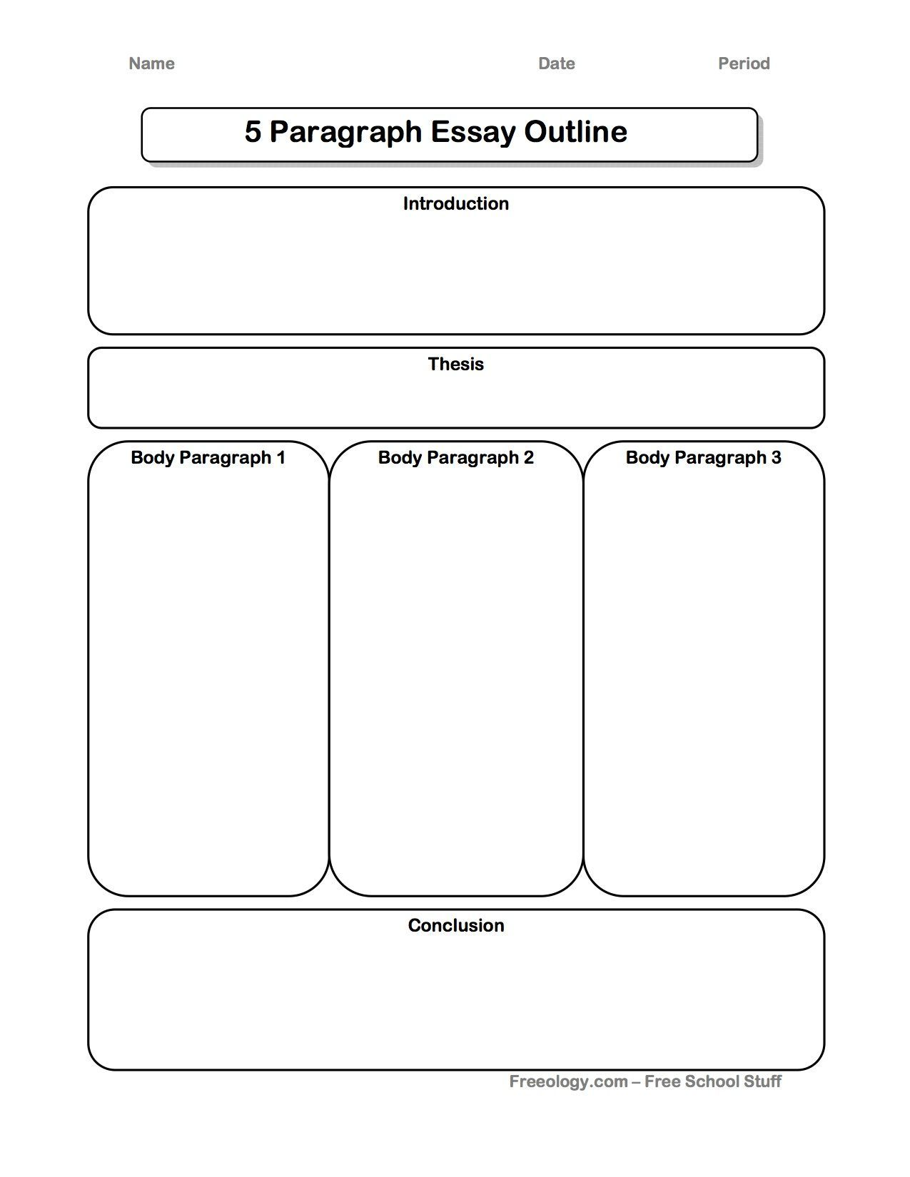Essay Writing Template For Elementary Essay Writing In Elementary Middle And High Scho Expository Essay Graphic Organizer Expository Essay Expository Writing [ 1650 x 1275 Pixel ]