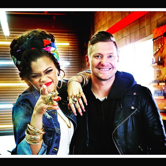 Big thanks to our girl @andradaymusic for being the real thing!  HARD LOVE  ft. Andra day is out now on iTunes and she CRUSHES IT.  Hope y'all enjoy!