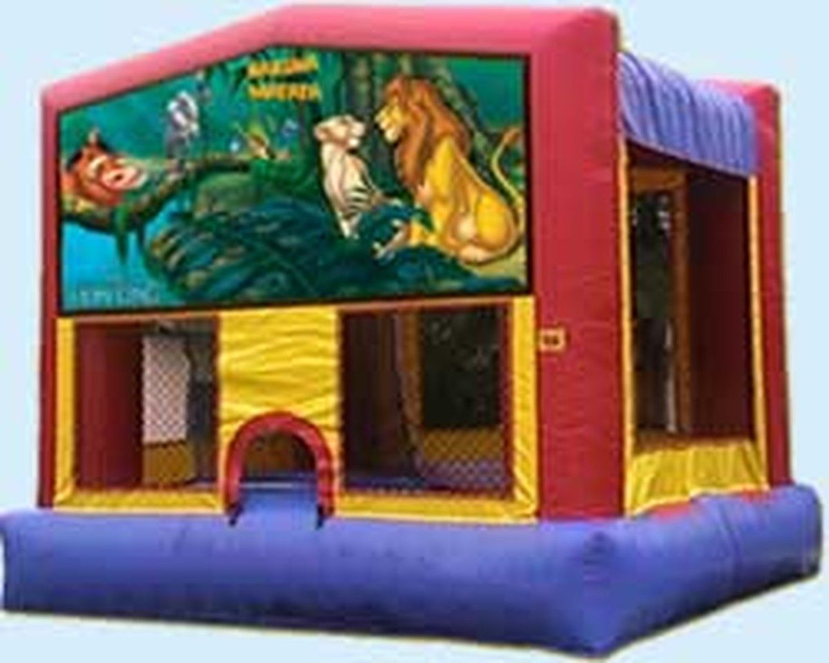 fd90b70252b Lion king bounce house in 2019 | inflatable bounce house | Bounce ...