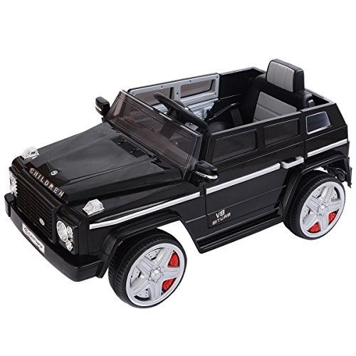 Costzon 12v Mp3 Kids Ride On Car Battery Power Wheels Rc Remote