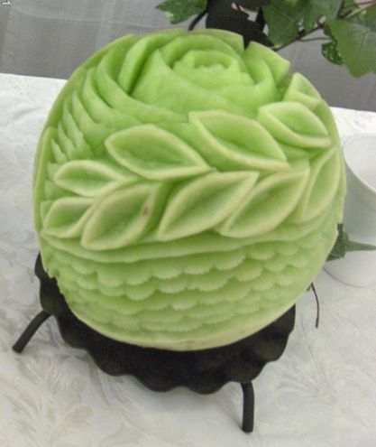Edible glamour toronto fruit vegetable carvings mangiare