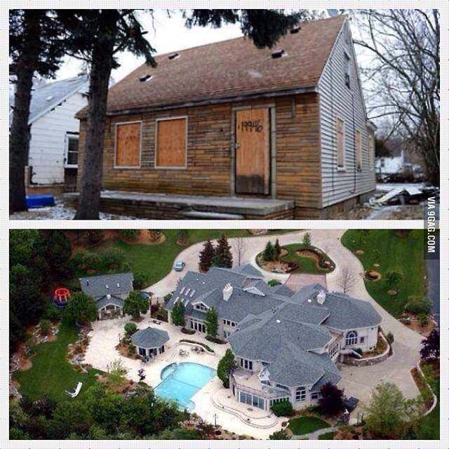 Eminems House Before And After In 2020 Eminem Best Funny Pictures Prison Break