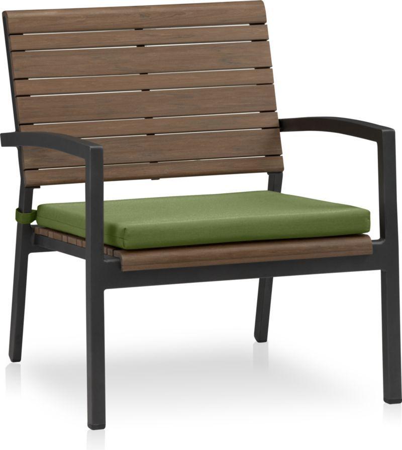 Rocha II Lounge Chair With Cilantro Sunbrella ® Cushion