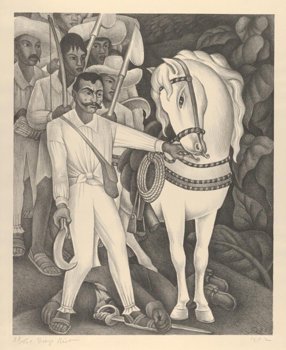 Diego Rivera Emiliano Zapata And His Horse The Metropolitan Museum Of Art Diego Rivera Art Latino Art