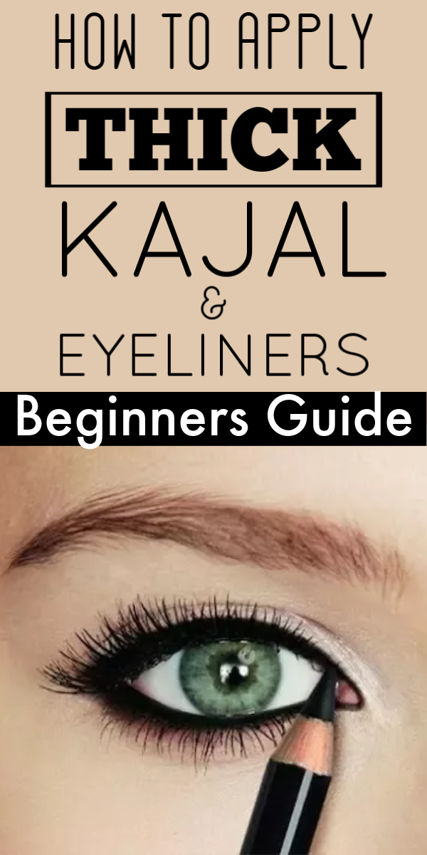 How To Apply Thick Kajal & Eyeliners For Beginners