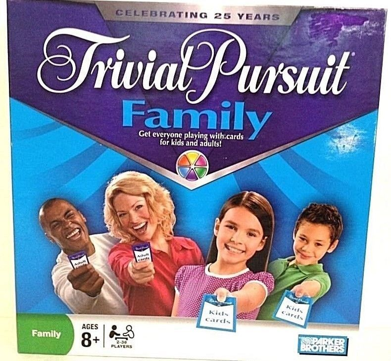 Trivial Pursuit Family Game NEW in Open Box 2008 Hasbro #Hasbro