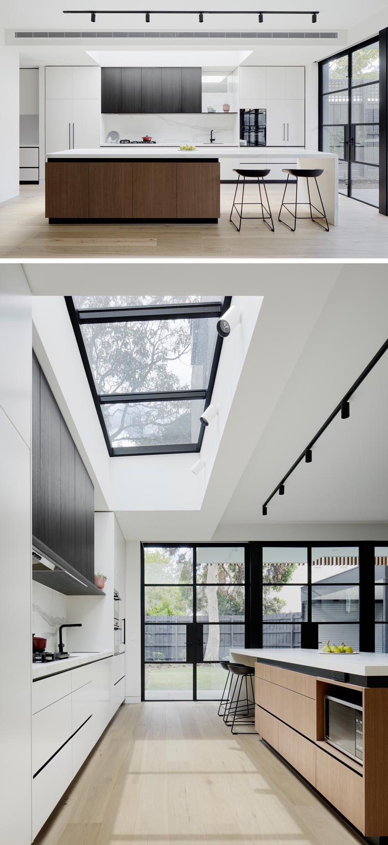 A Double Height Extension Was Added To This Victorian Terrace House Minimal Kitchen Design Victorian Terrace House Modern House Design
