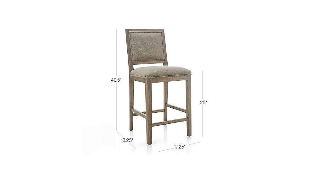 5420e3d4a62 Image with dimension for Sonata Counter Stool