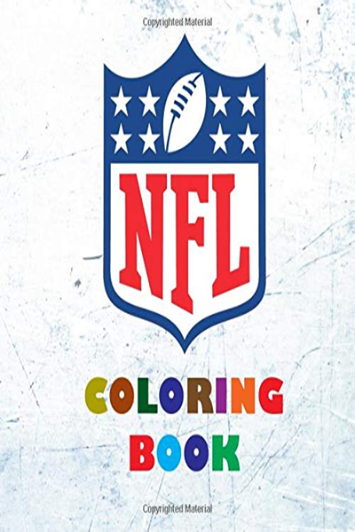 Nfl Coloring Book Super Book Containing Every Team Logo From The Nfl For You To Color In Original Birthday Present Gift Idea By Johnnie Walker Independ Book Activities Books Logo Quiz