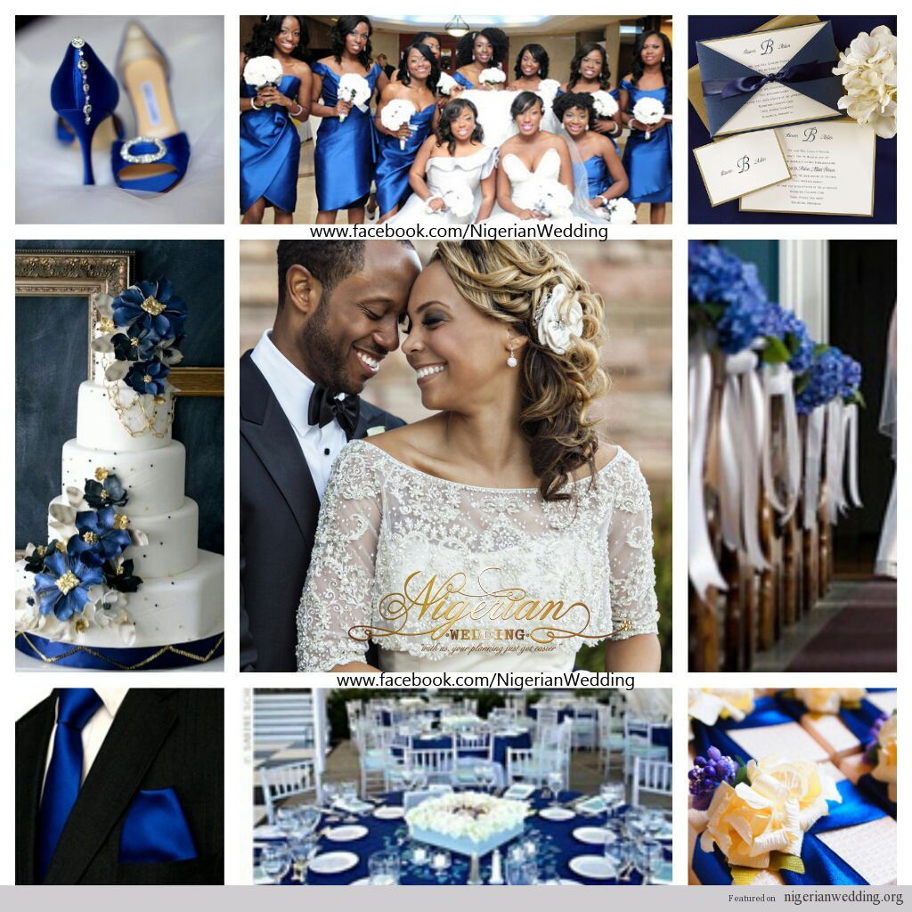 Blue White And Gold Wedding Decor : White blue and gold wedding ideas for brides