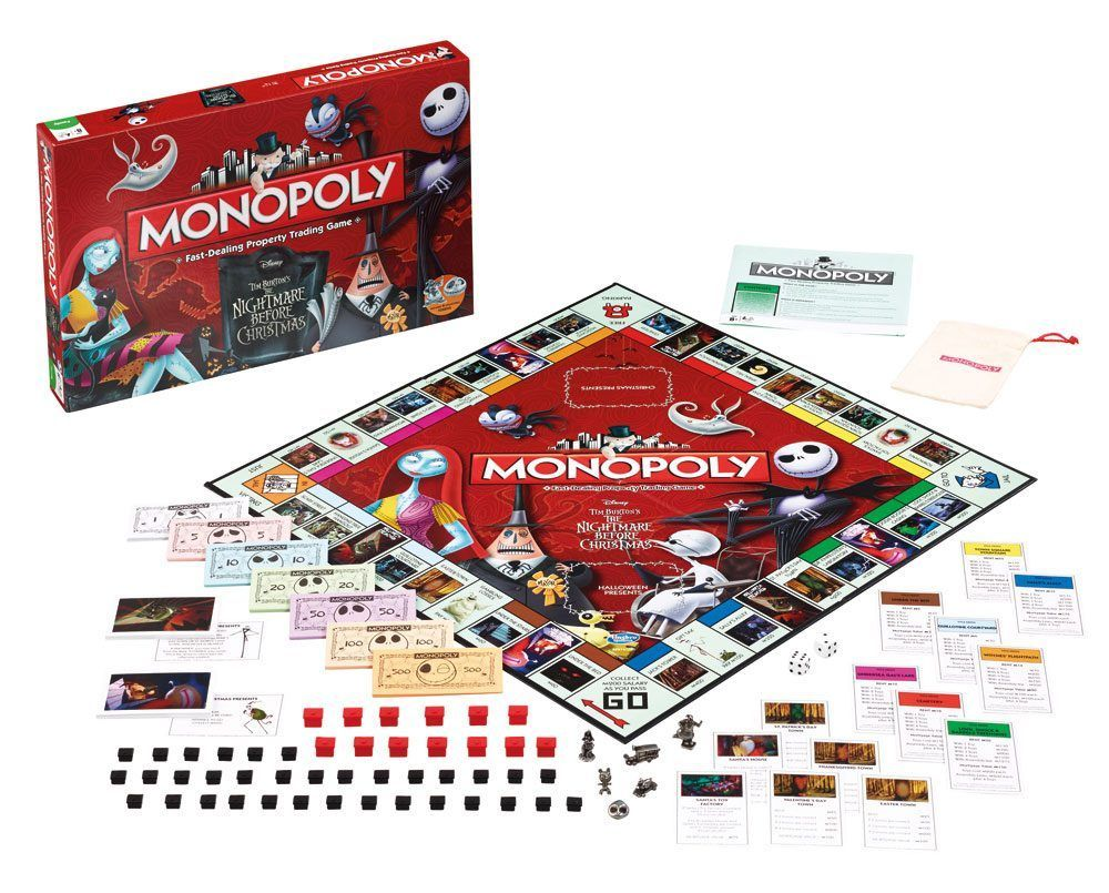 MONOPOLY The Nightmare Before Christmas US VERSION