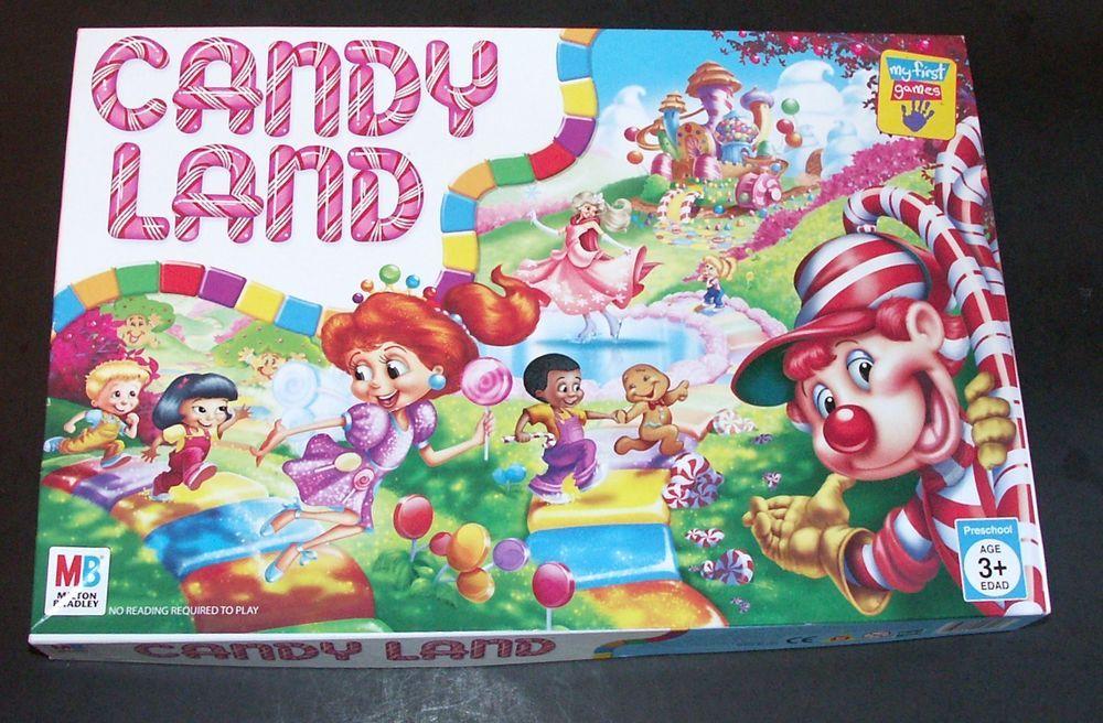 2005 milton bradley candy land board game 24 players