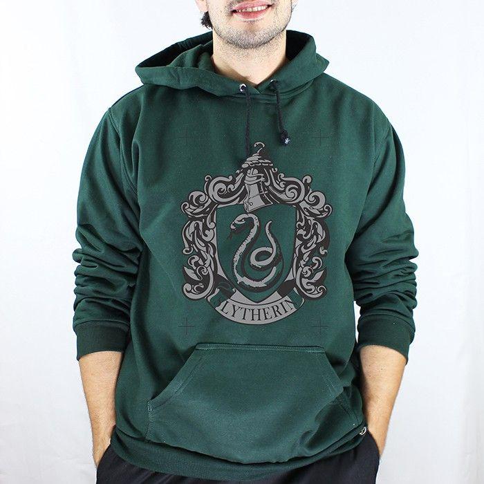 e4c486921ce1 Moletom Sonserina - Harry Potter | Movies-clothes | Moletom ...