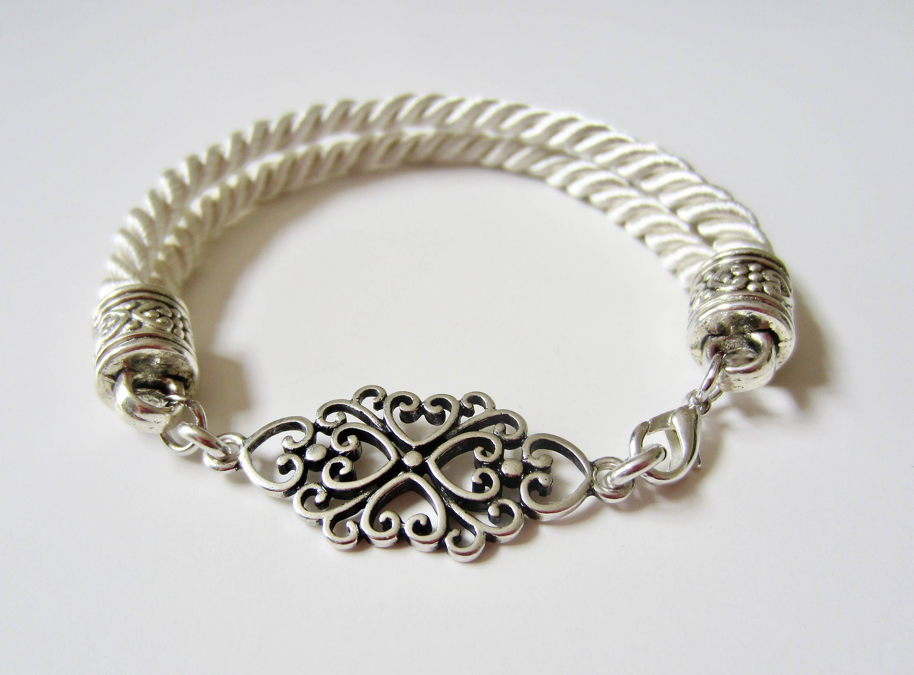 bracelet hayes corded megan cord and jsessionid clipper diy bead wrapped tutorial knot