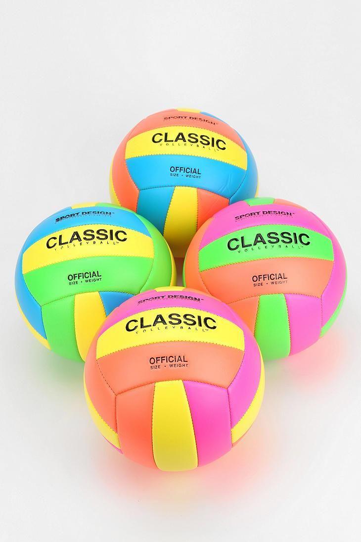 Neon Volleyball Volleyballs Play Volleyball Volleyball