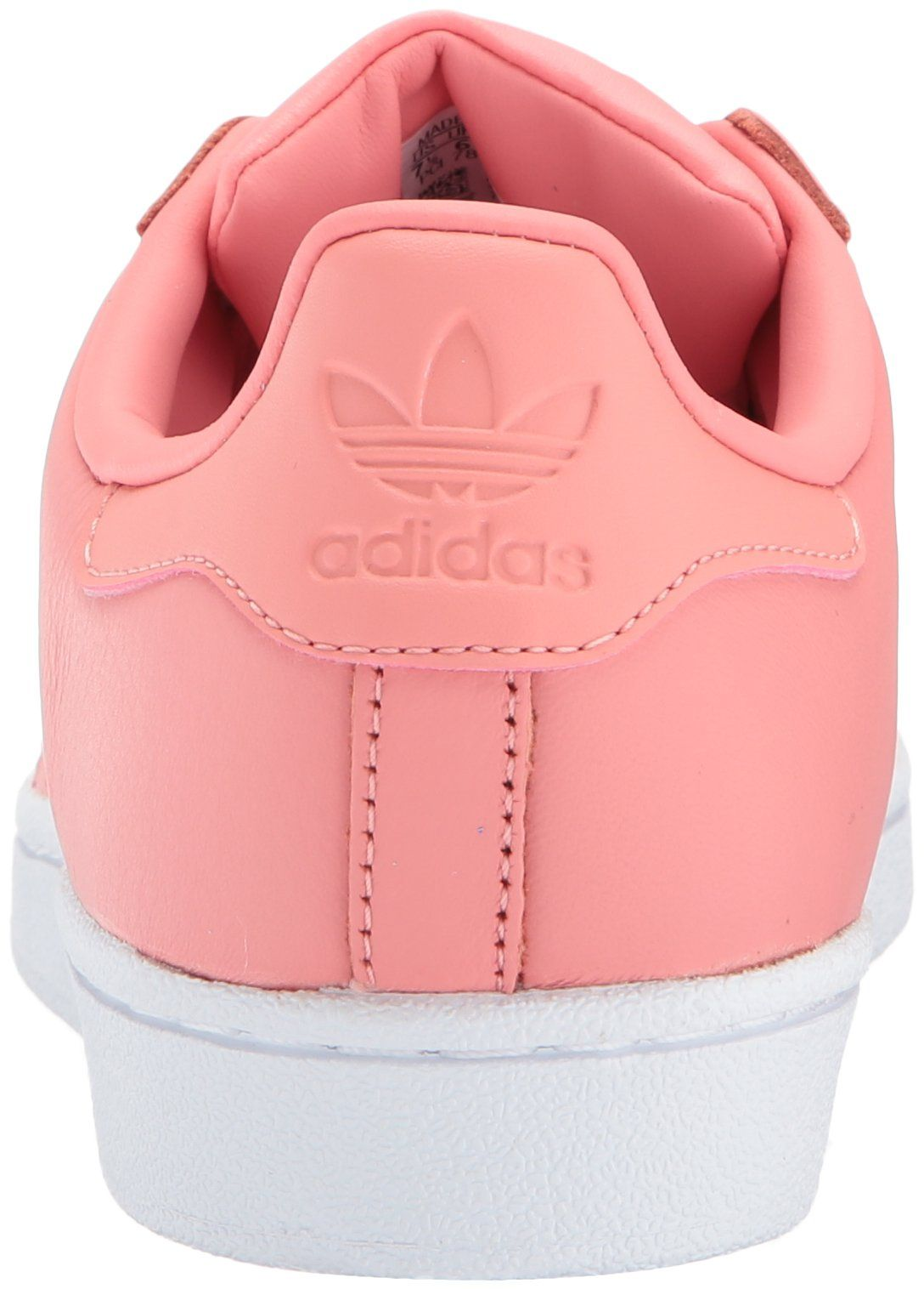 best service eea53 32c4f adidas Originals Womens Superstar Metal Toe W Skate Shoe Tactile Rose Tactile  Rose White 7 Medium US    Details can be found by clicking on the image.