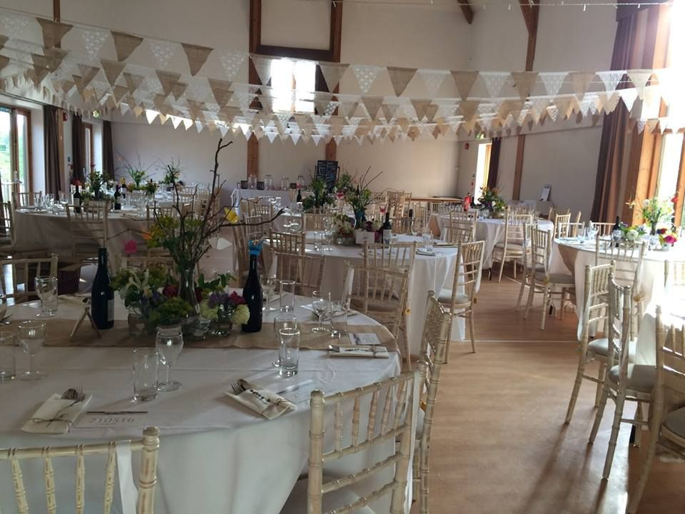 High Hurstwood Village Hall High Hurstwood Wedding Venue - Chair hire for weddings