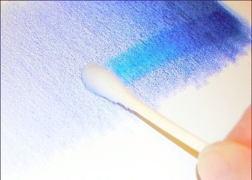 Use Rubbing Alcohol To Easily Blend Colored Pencils Blending