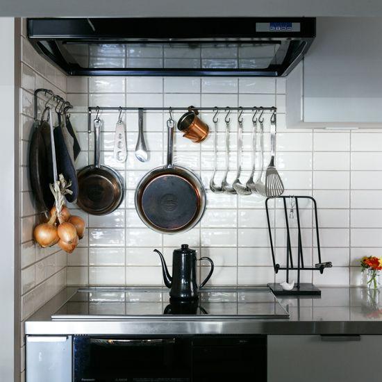 業務用 らしさがポイント 浅田家のキッチンづくり キッチン キッチンインテリアデザイン キッチンデザイン