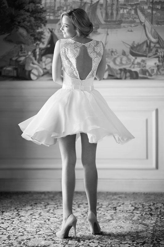 robe de mariée créateur Paris et Lyon , Zoé