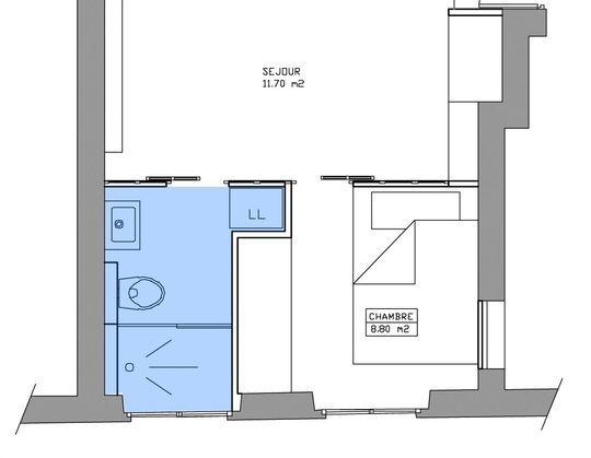 Am nagement petite salle de bains 28 plans pour une for Cote maison salle de bain