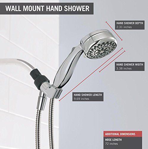 Delta Faucet 75700 7-Setting Handheld Showerhead Chrome