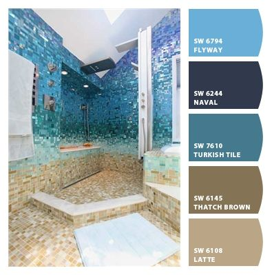 Beach Bathroom Paint Colors From Chip It By Sherwin Williams