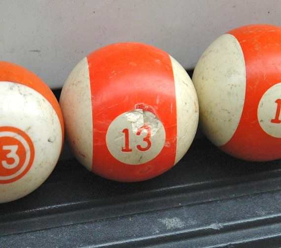 Lucky Number 13 pool ball