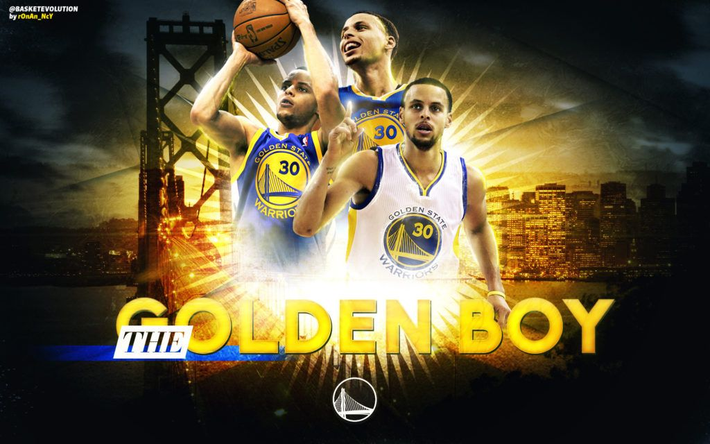 Download Free Stephen Curry The Golden Boy Wallpaper