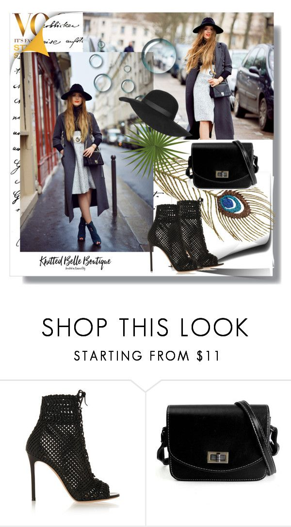 """Untitled #100"" by aida-demirovic ❤ liked on Polyvore featuring Gianvito Rossi, Topshop, women's clothing, women's fashion, women, female, woman, misses and juniors"