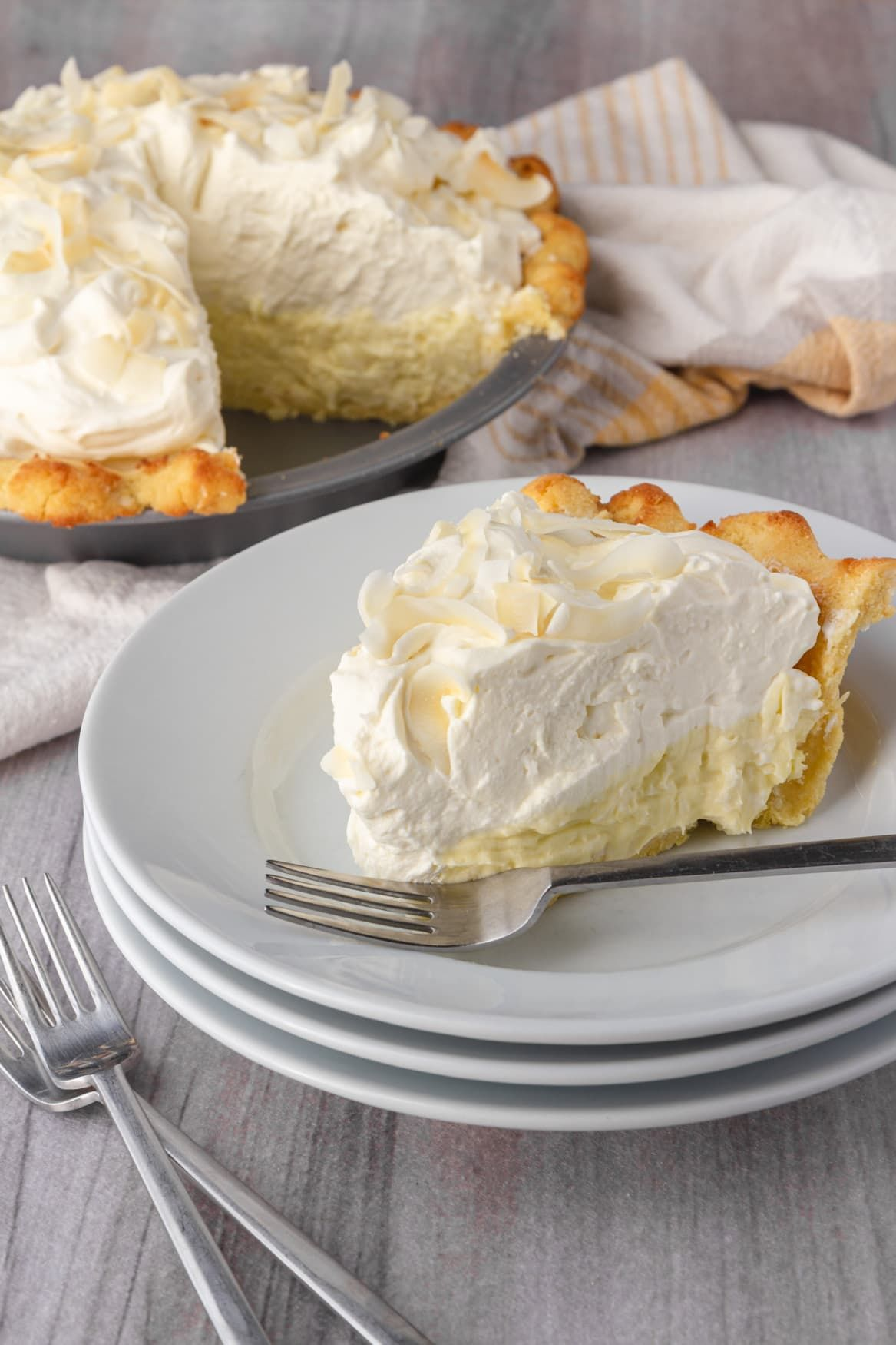 Keto Coconut Cream Pie - Patrick Maese