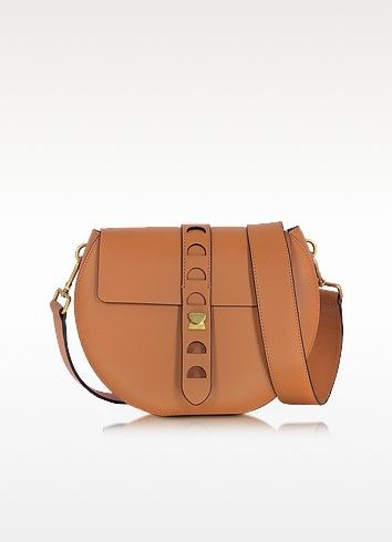 b5cb5912ee43 Carousel Large Cuoio Leather Crossbody Bag - Coccinelle