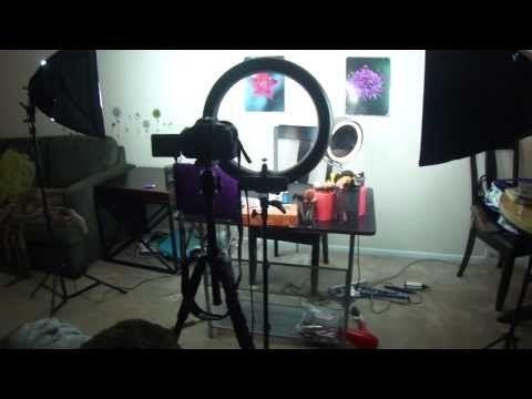 vlog my filming lighting setup for