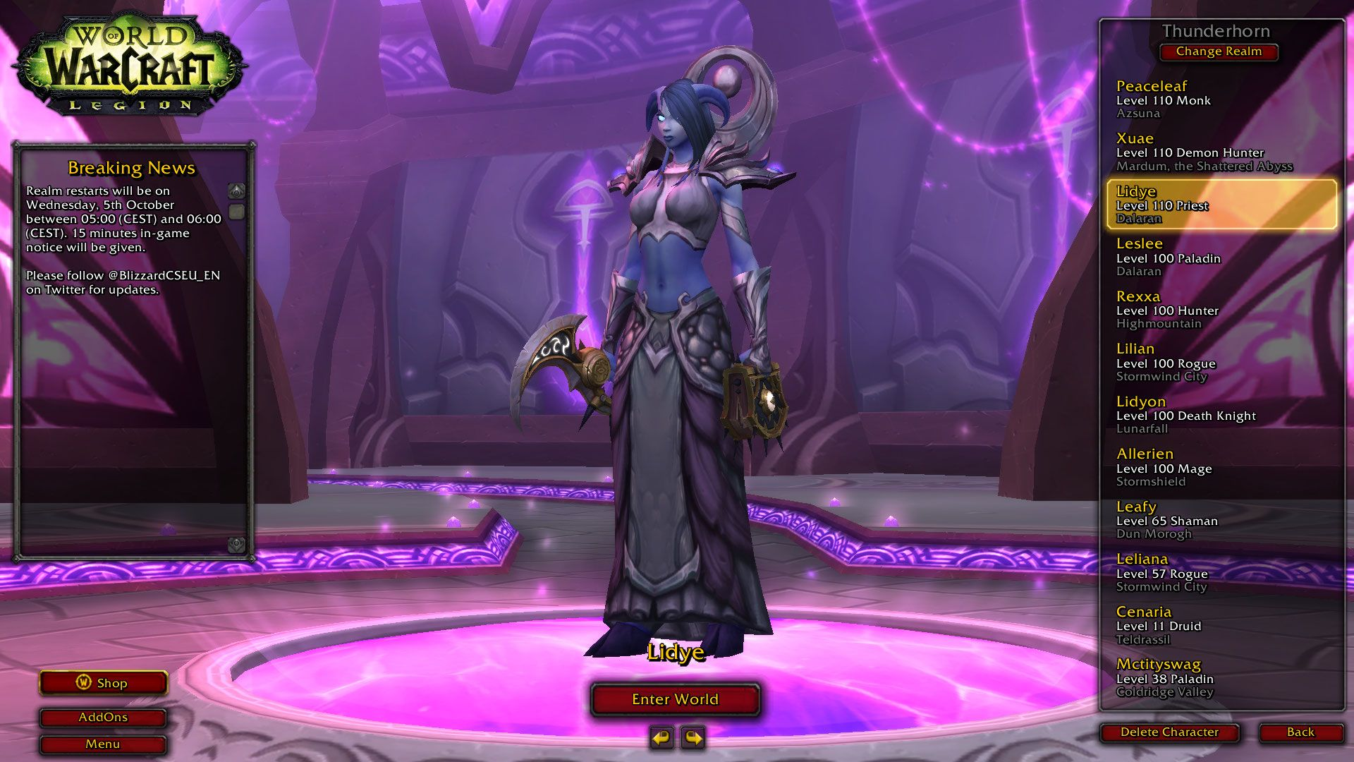 I just love the void form mechanic for sh priest  Then i