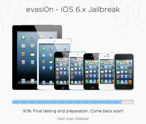 El Jailbreak se lanzará mañana según Evad3rs - http://macpedia.me/2013/02/04/el-jailbreak-se-lanzara-manana-segun-evad3rs/ -  Lo acaban de confirmar en Twitter, hasta mañana no habrá Jailbreak. La barra de progreso ha avanzado hasta el 90% y todo marcha bien, pero al final no se podrá lanzar hoy, día de Superbowl. No habrá Sunday is Funday en esta ocasión. Pero ya es cuestión de pocas horas que... - Luis Padilla