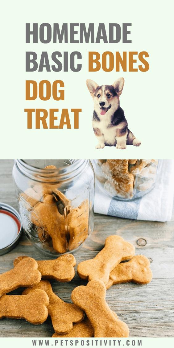 BEST HOMEMADE BASIC BONES DOG TREAT
