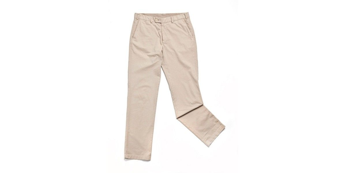 Classic slacks are a summer must-have. Roll them up to flash your Fin's! £130