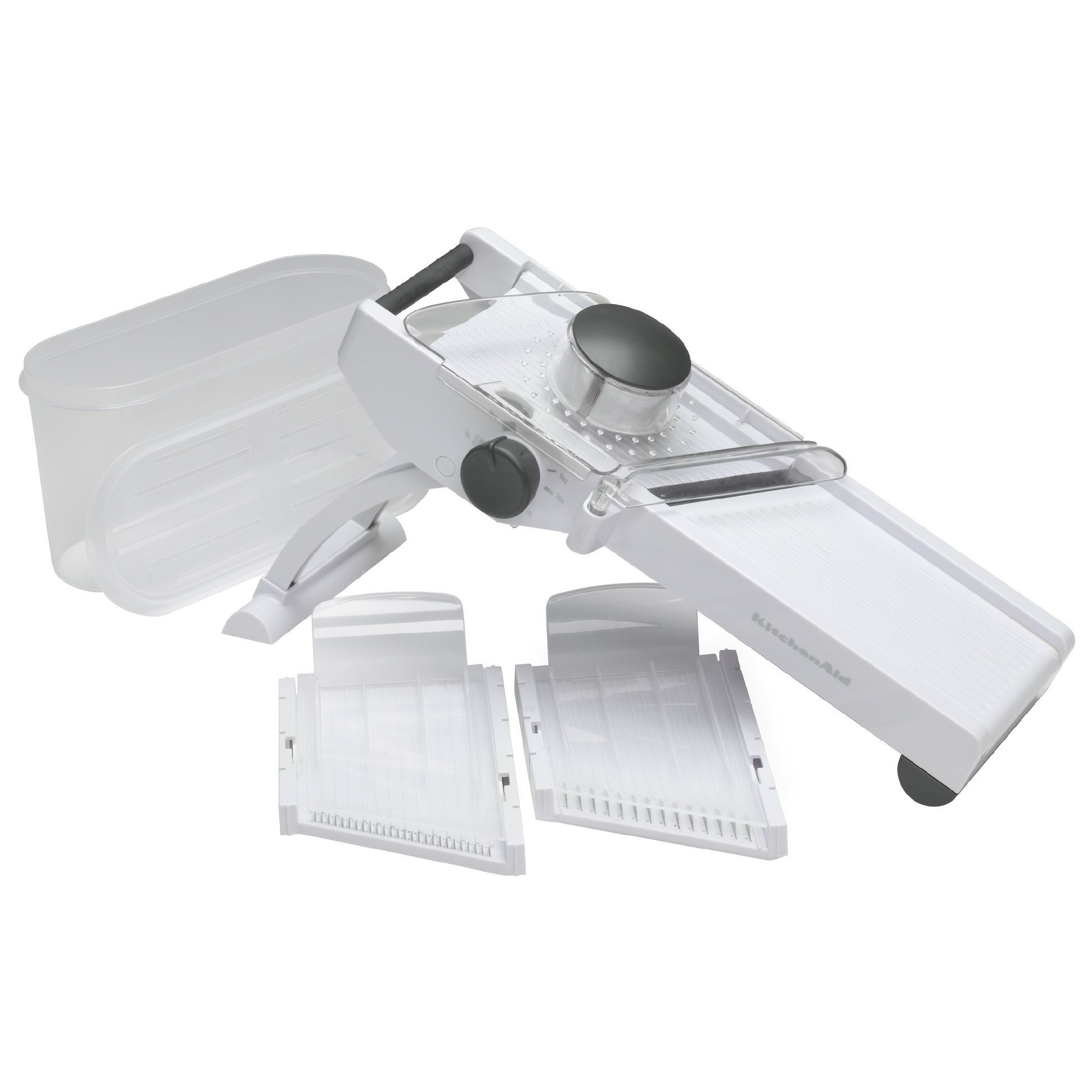 This Kitchenaid Mandoline Slicer With Its Razor Sharp Stainless Steel Blades Makes Quick Work Of Repeive Time Consuming Tasks Such As Making