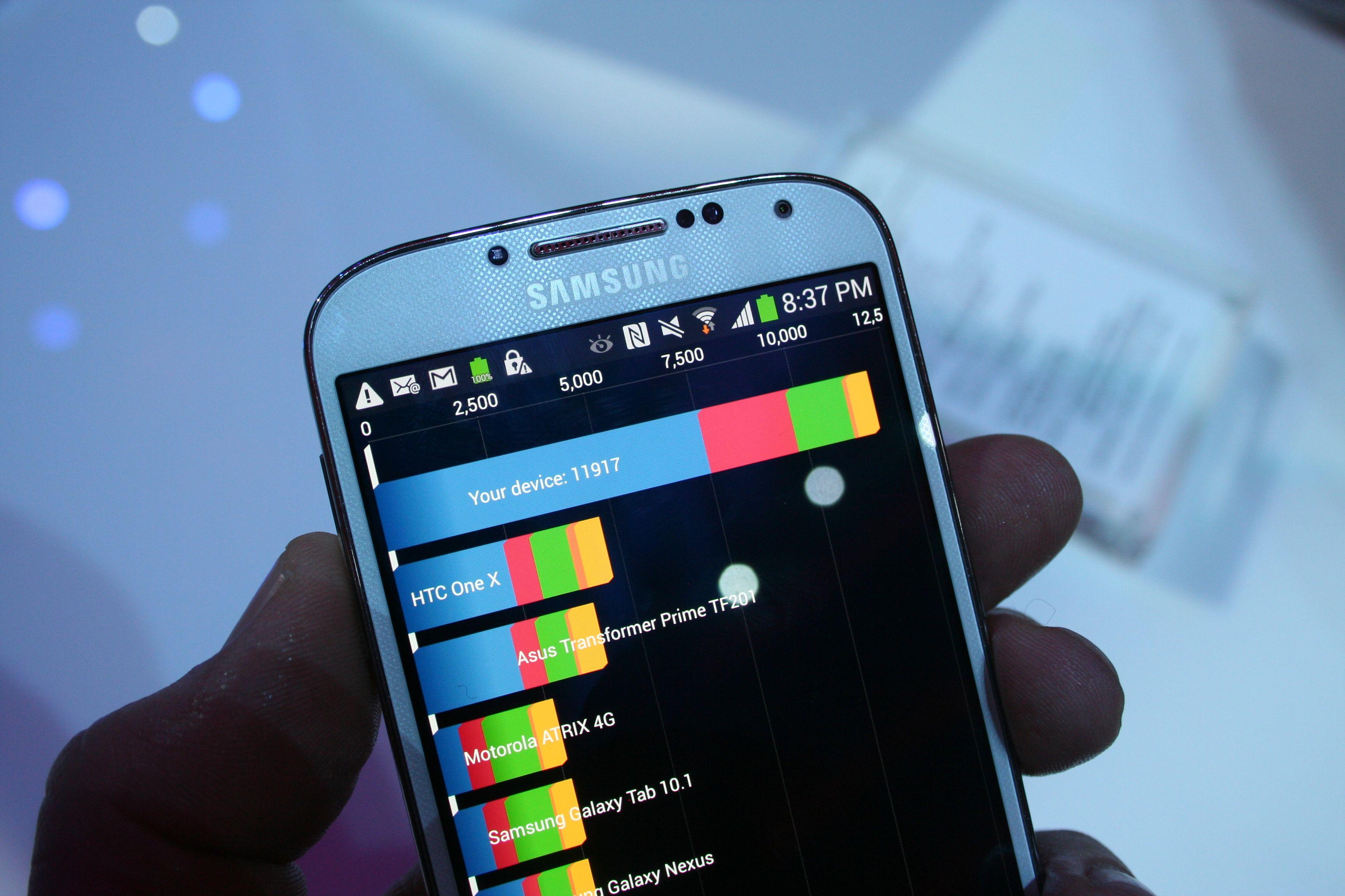 Samsung Galaxy S4 benchmark