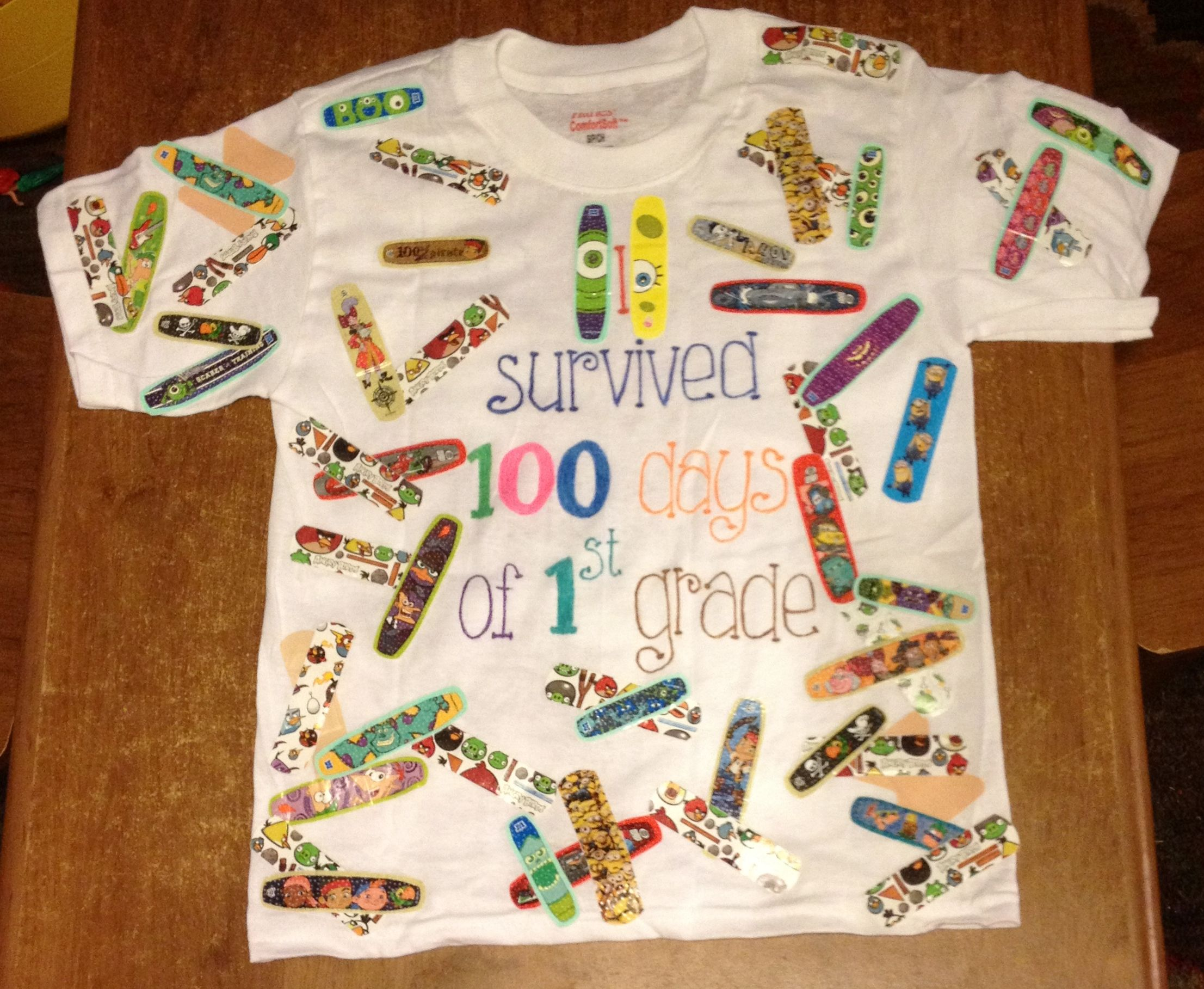 This is the cutest 100th Day Of School TShirt idea ever