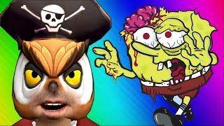 VanossGaming - Spongebob Zombies! (Call of Duty WaW Zombies Custom ...
