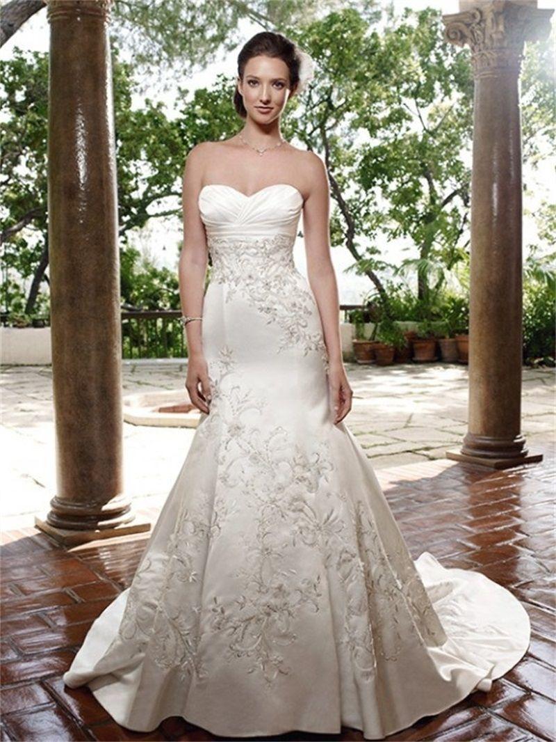 Simple Cream Wedding Dresses - Cold Shoulder Dresses for Wedding ...
