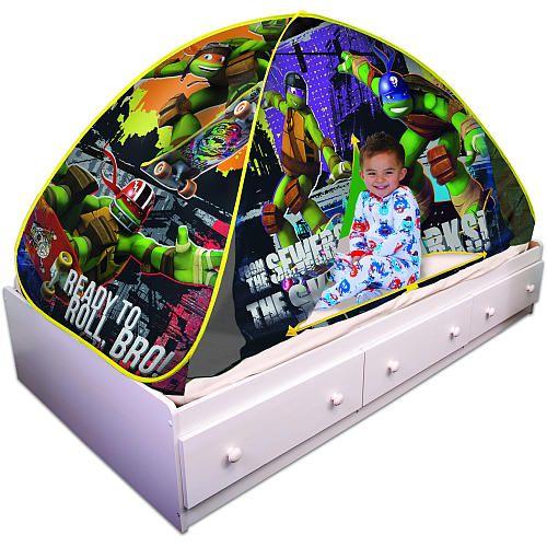 Teenage Mutant Ninja Turtles Bed Tent - Play Hut Inc - Babies   ...  sc 1 st  Pinterest & Teenage Mutant Ninja Turtles Bed Tent - Play Hut Inc - Babies