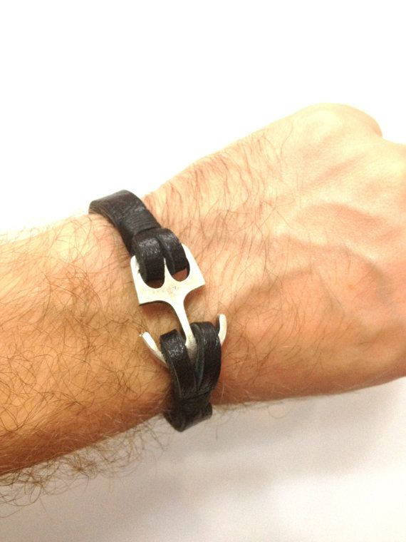 Hey, I found this really awesome Etsy listing at https://www.etsy.com/listing/109894224/mens-bracelet-simple-leather-bangle-mens