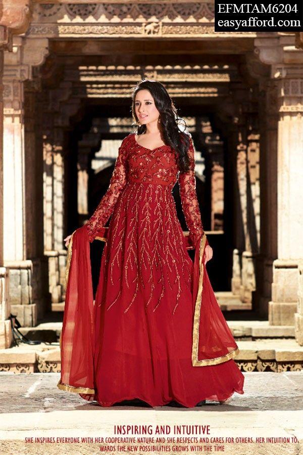 Today's Price Rs 4706/- For Buy Call or Whatsapp 08968017642, 07837409851 or Click the below link http://easyafford.com/anarkali-suits/1728-avantika-red-gown-cum-anarkali-suit.html…… #AnarkaliSuit #WeddingSuit #EveningDress #Partywear #Indianwear #BridalDress #WeddingWear #LatestDesign #DesignerDress