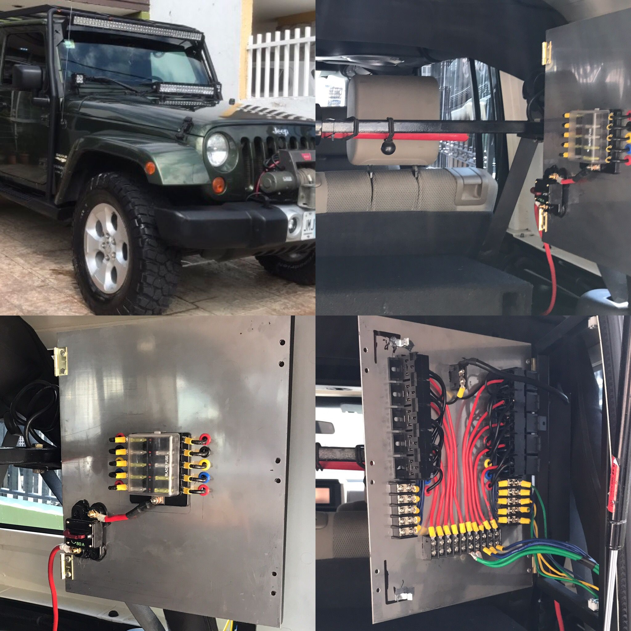 Jeep Jk Tablero Electrico 12 Volt º º Jeep Jk